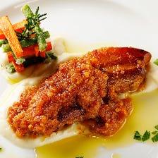 カッスーラなどイタリアの伝統料理も