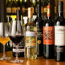 ソムリエ厳選 世界のワイン50種以上