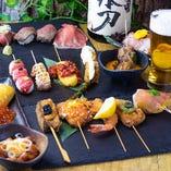 【絶品】当店自慢の串料理を一度お試しください★!