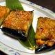 美味!米茄子田楽 まるで米茄子のステーキ ハシで切れます♪