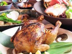 【120分飲み放題付】刺身盛り5種+丸鶏の姿焼がど~んと一尾! 4,000円コース