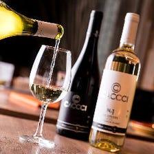 牡蠣のために作られたワインCACCCI