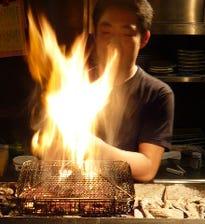 名古屋コーチンのもも炭火焼