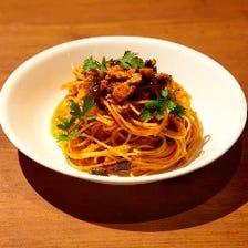 熟成短角牛のボロネーゼスパゲッティ