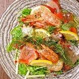 ぐるなびネット予約特典!【席のみ予約】「鮮魚のカルパッチョ」1皿プレゼントクーポン付
