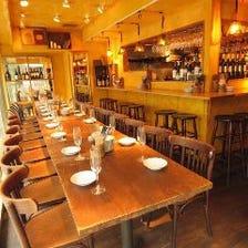 ◆テーブル席 最大30名様前後