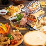 当店自慢の<チーズ×肉バル>料理を多数ご用意しております!