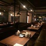 全卓にパーテーションを設置・プライベート空間でのお食事がお楽しみ頂けます