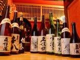 【お酒・お飲み物】 地酒・銘酒も多数ご用意しています。