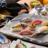 寿司が主役のコースをご用意