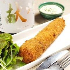 【一日限定3食】超特大まるごと海老のクリームコロッケ
