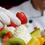 フルーツパティシエ 果物ごとの食べ頃の見極めが重要です。