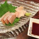 びわ鱒のお刺身