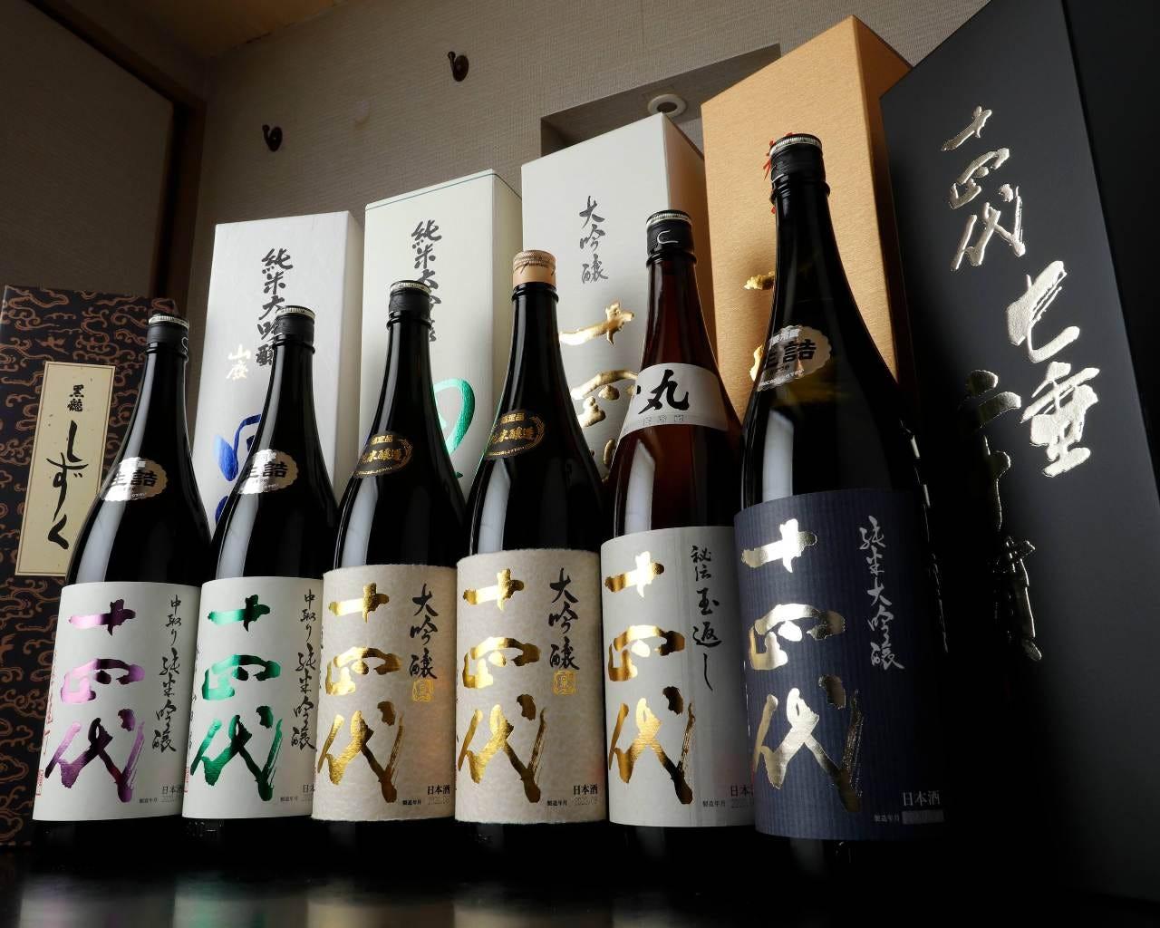 日本酒常備60種類