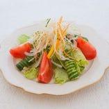 新鮮野菜のプレーゴ!サラダ