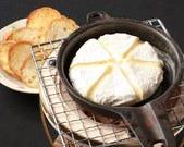 カマンベールチーズの鉄板焼