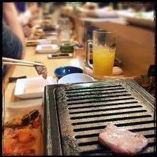ヒマラヤ岩塩プレートで食べる焼肉!