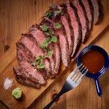 ランイチの牛ステーキ