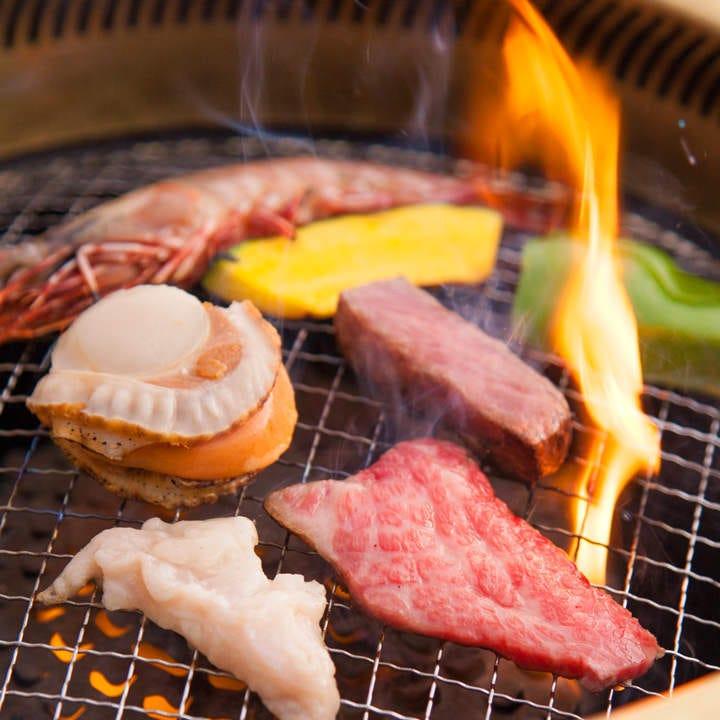 黒毛和牛の食べ放題コースが お一人様3,500円(税抜)から!