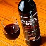 ■リブ・シャック■ 赤身と相性抜群◎南アフリカ産のワインです