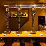 【1階】テーブル席(~4名様×3卓)