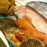 生簀を泳ぐ活きたネタ【その日の新鮮な魚】