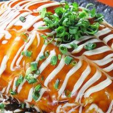 豚バラ甘辛煮の豚平焼き