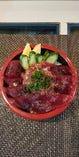 鉄火ネギトロ丼(茶わん蒸し、お椀付き)