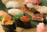 ◆寿司職人が握る本格お寿司◆