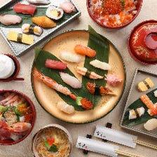 ◆腕利き職人によるお寿司◆