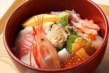 ◆豪華鮑つき~海鮮丼◆