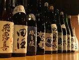 ◆各地のお酒数十種類ご用意しています◆