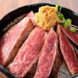 【数量限定】神戸牛ステーキ丼