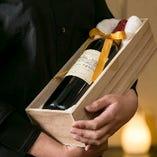 思い出のワインをご一緒に…。ボトルワインはお持ち込みOK◎セッティングはお任せください