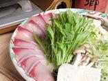愛媛県産「ぶりしゃぶ鍋」