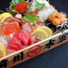 ◆鮮魚のうま味をダイレクトに堪能