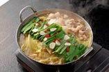 こだわりスープもつ鍋 鶏ガラ醤油味(ちゃんぽん麺付)