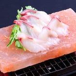 本日の「特選鮮魚の岩塩焼き」