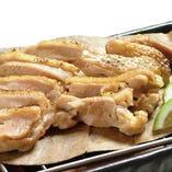 〈大分県〉冠地鶏の炙り焼き
