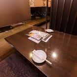 【半個室席/6名様用】デートや女子会などプライベート感満載のお食事シーンに。