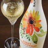 接待や記念日にぴったりの微発砲ワインやスパークリングワインもございます。