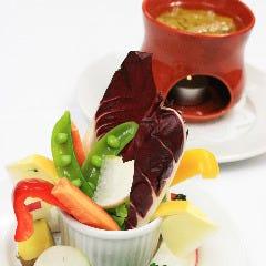 地野菜のバーニャカウダ