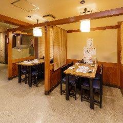 ≪最大40名様・テーブル席:波≫30~40名様までのテーブル半個室