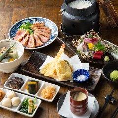 Washoku-to Nihonshu Kappoh Baru The Kyoto kitchen Sanjoten
