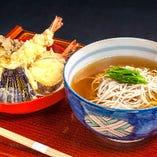 揚げたて天ぷら蕎麦