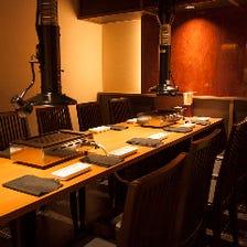 渋谷でゆったり焼肉を味わう宴会個室