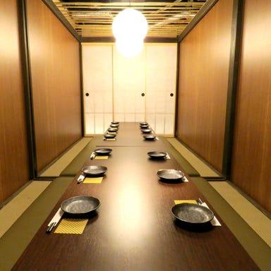 全席個室 居酒屋 九州料理 かこみ庵 西鉄久留米駅前店 店内の画像