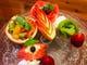 記念日はMALACCAで♪ お好きなケーキにフルーツでデコレーション致します!!