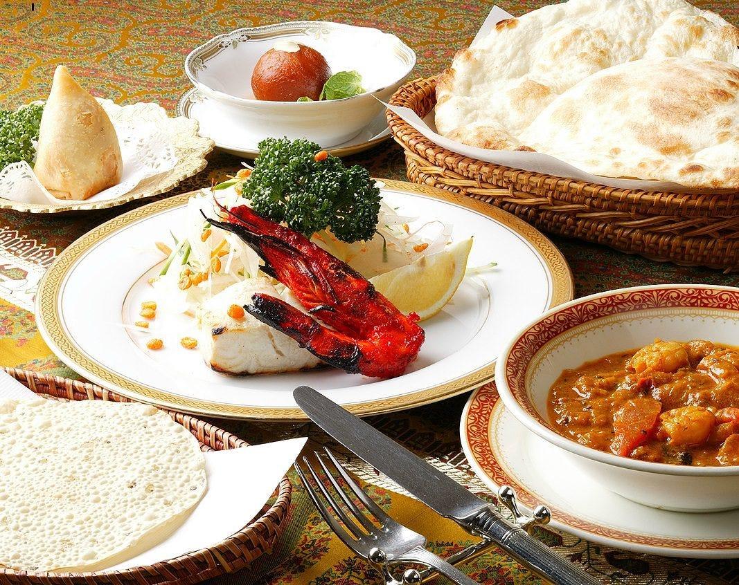 本格インド料理をお楽しみください。