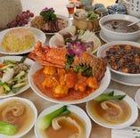 中華高級食材をふんだんに使った超豪華6,000円(税抜)コース